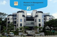 ESSEC 3rd in the Financial Times MiM ranking 2020
