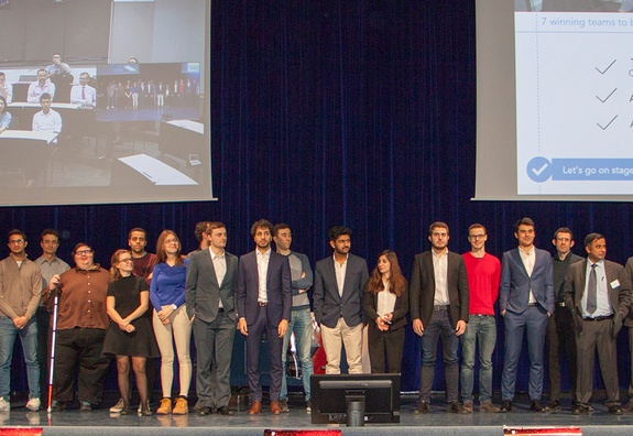 Digital Workshop Competition: 154 students get to grips with the challenges of the French bank Société Générale